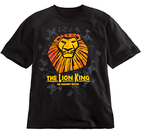The Lion King the Broadway Musical - Sun Logo T-Shirt for Kids